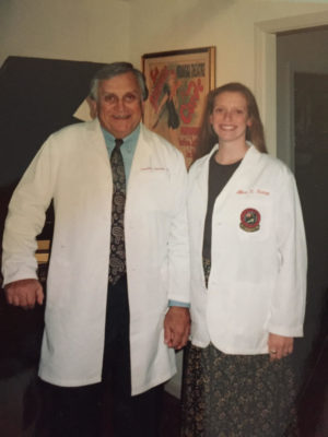 ob-gyn | CU Rocky Mountain OB-GYN | photo girl and father holding hands